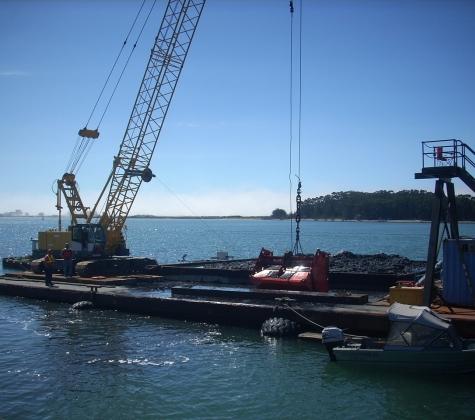 Chevron Eureka Marine Terminal Maintenance Dredging