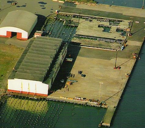 Samoa Terminal (Redwood Dock) Reconstruction Project